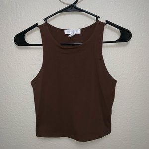 Women's Forever 21 Fitted Crop Top